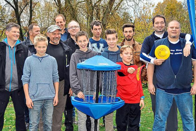 1. Disc Golf Turnier in Lüdinghausen