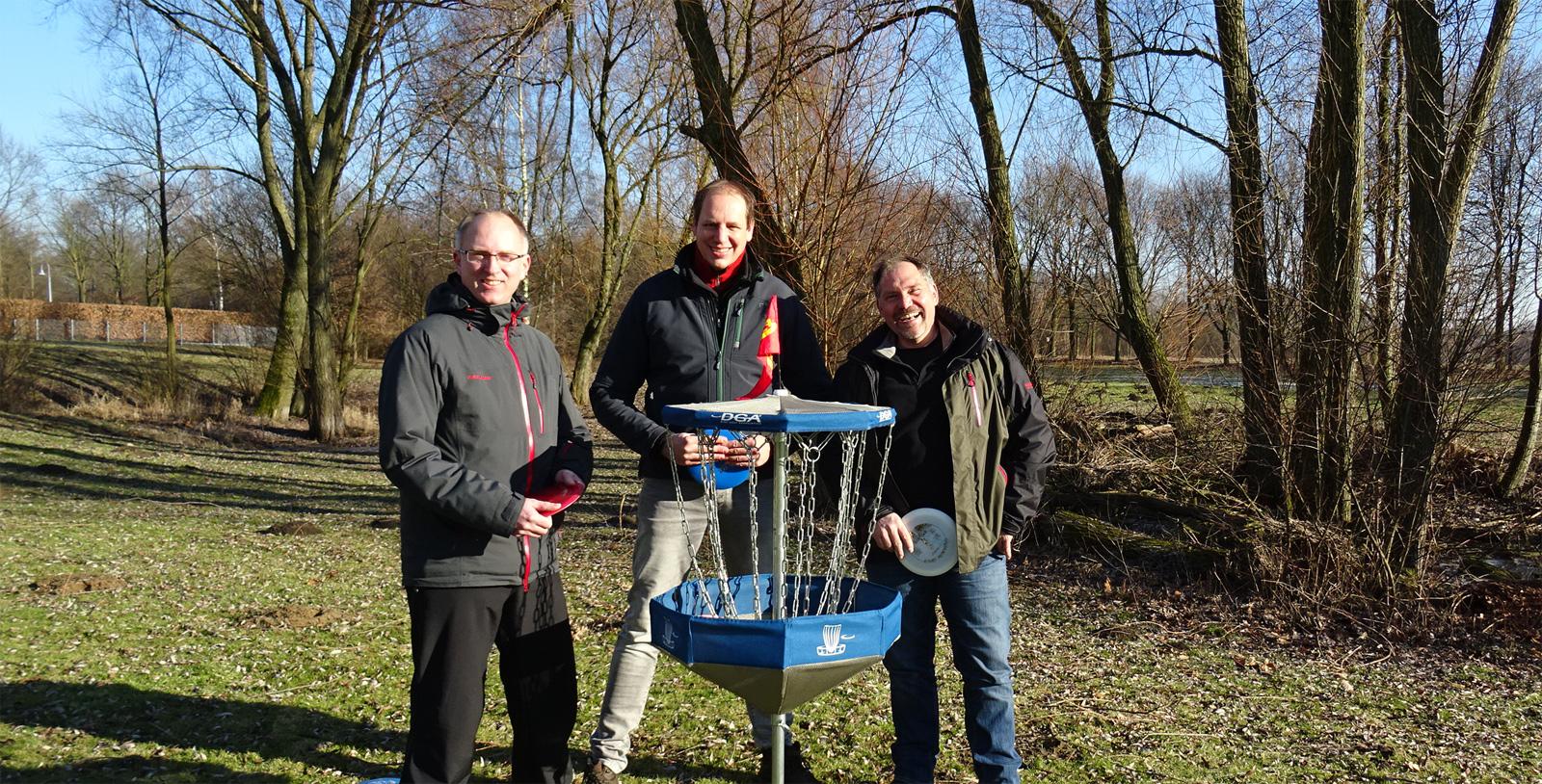 Der Vorstand des Disc Golf Lüdinghausen e.V.