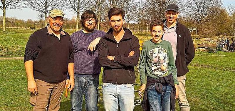 Erste Turnierteilnahme für Disc Golf Lüdinghausen