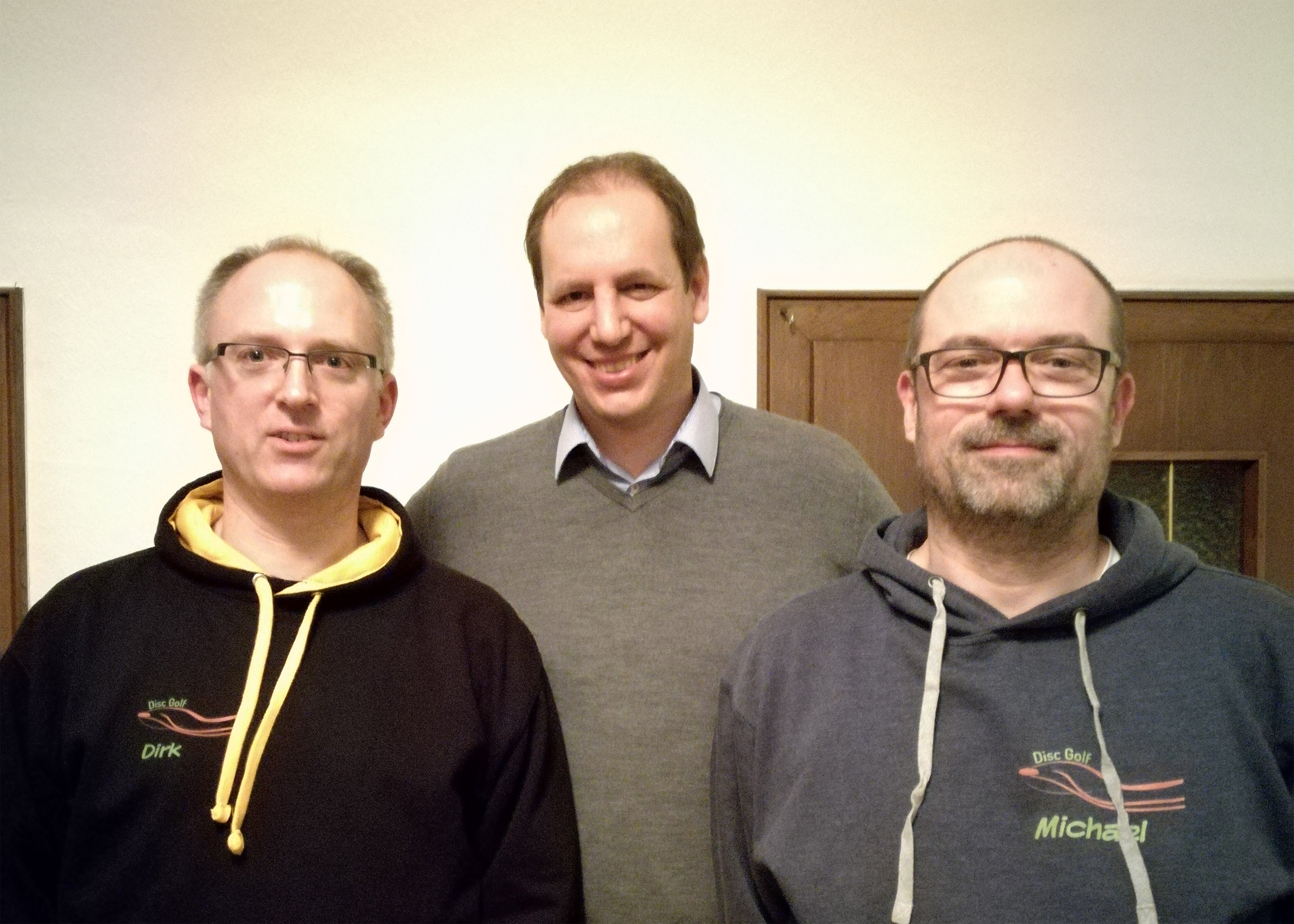 Vorstand Disc Golf Lüdinghausen