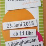 Flyer Lüdinghausen Familientag