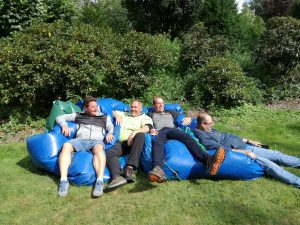 Disc Golf auf dem Lüdinghausen Familientag