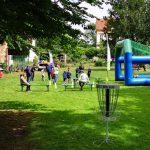Disc Golf auf dem Familientag Lüdinghausen