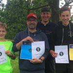Erfolgreiche WEstfalen-Tour in Lünen für Disc Golf Lüdinghausen