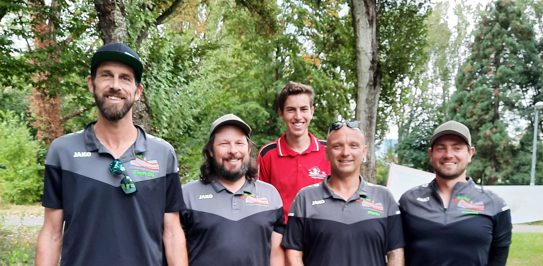 Team Lüdinghausen bei der DM in Freiburg